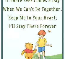 Lovely Friendship Disney Quote - Winnie The Pooh by Mellark90