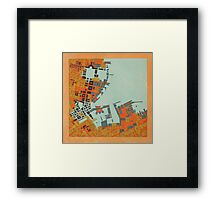 cipher n. 5 Framed Print