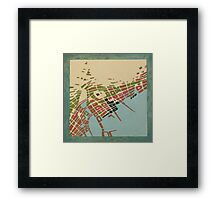 cipher n. 9 Framed Print