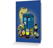 Doc Minion 12 and Chums Greeting Card