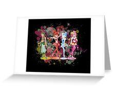Sailor Moon Super S: Amazon Quartet  Greeting Card