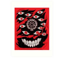 You've Activated my Alu-Card! Art Print