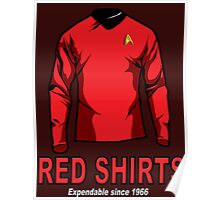Star Trek - Expendable Red Shirts Poster