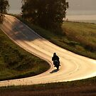 10.9.2014: Motorcycle on the Road by Petri Volanen