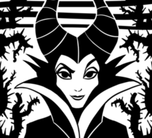 Maleficent's Dark Roast Sticker