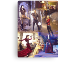 Once Upon A Time - main cast Canvas Print