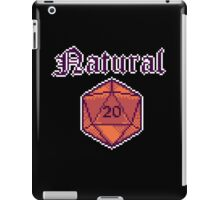 Natural 20 iPad Case/Skin