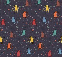 Dancing Cats. by shizayats