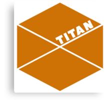 Destiny Game - Titan Symbol Canvas Print