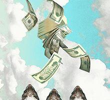 Mo' money ferret by KatZyK