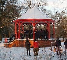 12 carols in the bandstand by DerekKnight