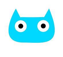 Blue Kitty by saikuron