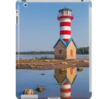 Grafton Lighthouse in Illinois iPad Case/Skin