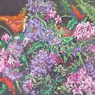 Bouquet (pastel) by Niki Hilsabeck