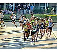 Great Cow Harbor 10-Kilometer Run Photographic Print