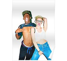 Tyler & Miley Poster