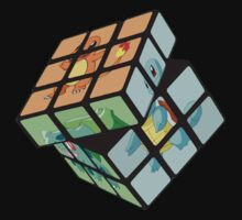 Pokemon Rubik's Cube T-Shirt