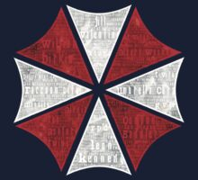 Resident Evil Umbrella Typography Kids Clothes