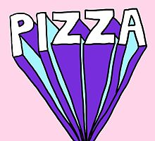 Pizza - Font by Crystal Friedman