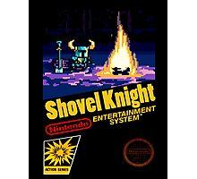 Retro Shovel Knight Photographic Print