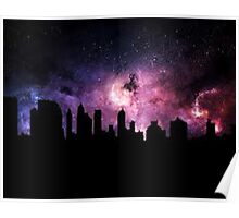 The City Sky Poster