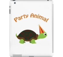 Party Animal - Turtle iPad Case/Skin