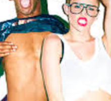 Tyler & Miley Sticker