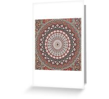 Om Mandala Greeting Card