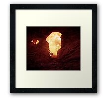 Turret Arch at sunset Framed Print
