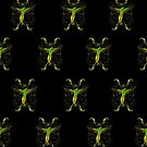 Parrot  Green (Pattern 2) by Adamzworld