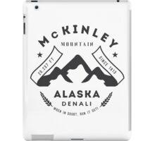 Mount McKinley Alaska iPad Case/Skin