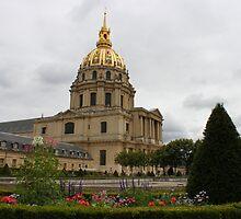 Dome des Invalides garden by Elena Skvortsova
