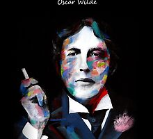 Quotation of OSCAR WILDE : I am so clever by Cay Wong