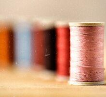 spools of thread by saaton