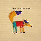 Monsieur Renard, Mister Fox by annelyse