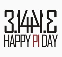 Pi Day by Boogiemonst