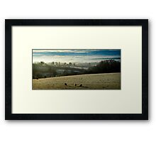Winter Mists Framed Print