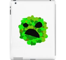 Artistic Creeper iPad Case/Skin