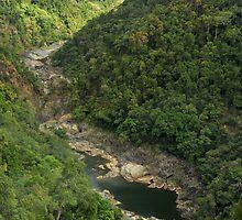 Karanda Railway arial view ,Far North Queensland. by Michael Crameri