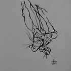 Test 14 - Flower, ink by Natas