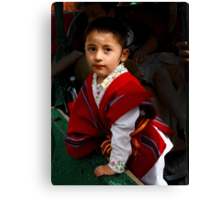 Cuenca Kids 508 Canvas Print