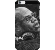 Carl Cox Pencil Drawing iPhone Case/Skin