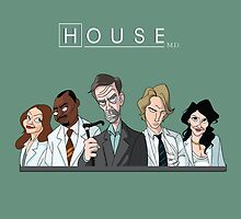 Dr. House by janeemanoo