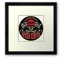 Speed Circus - Hit the Road Designs original art Framed Print