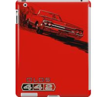 1964 Oldsmobile 442 poster reproduction iPad Case/Skin