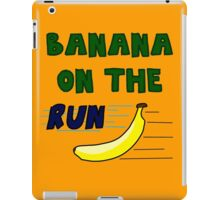 Banana On The Run! iPad Case/Skin