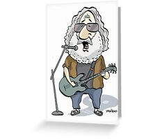 Jerry Garcia Greeting Card