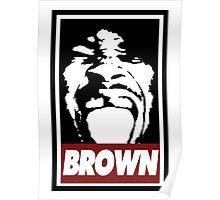 Brown Poster