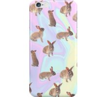 Personal Bunny Blanket :3 iPhone Case/Skin