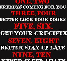 FREDDY'S SONG by grumpy4now